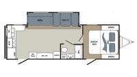 2017 Aerolite 2520RKSL Floor Plan