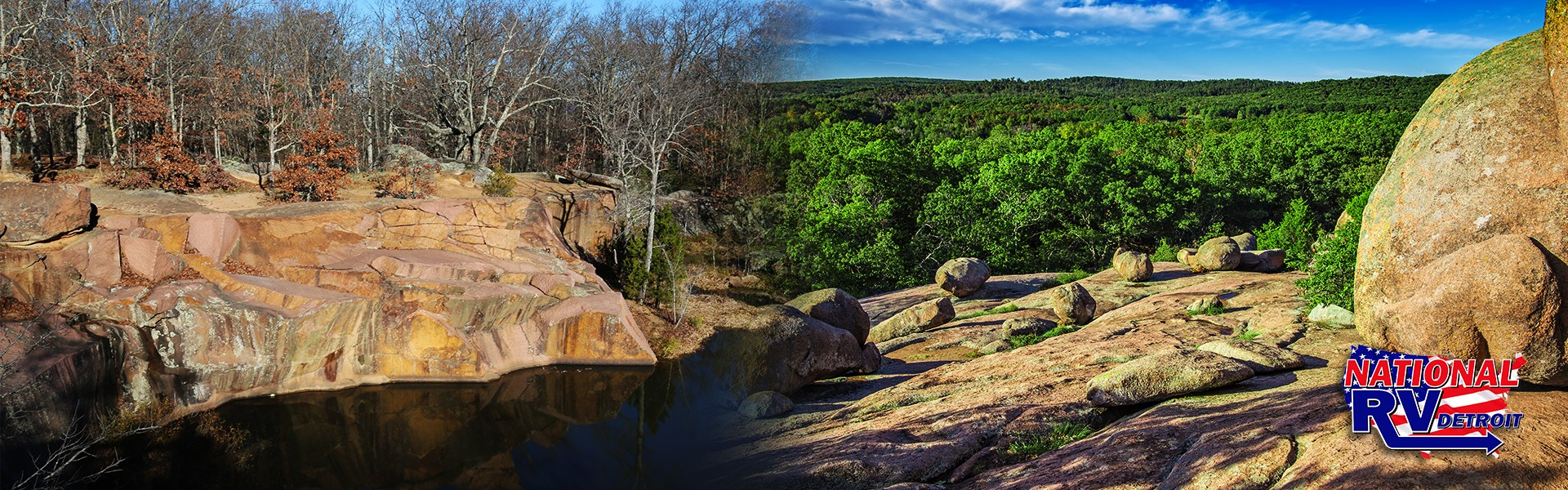 Experience the views at Elephant Rocks State Park.