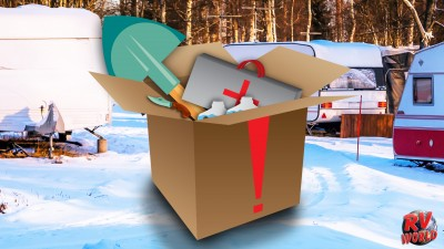 Just In Case: Winter RVing Travel Emergency Kit