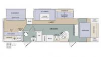 2011 LaCrosse 318BHS Floor Plan