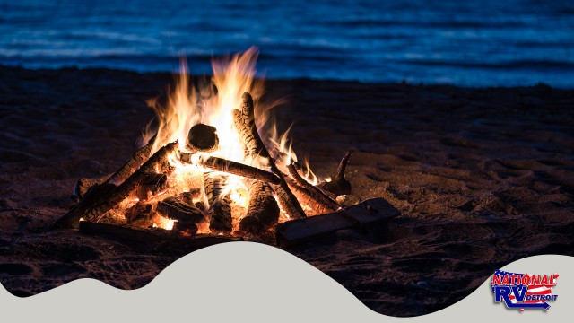 Beach bonfire  how to make your own holiday wax fire starters