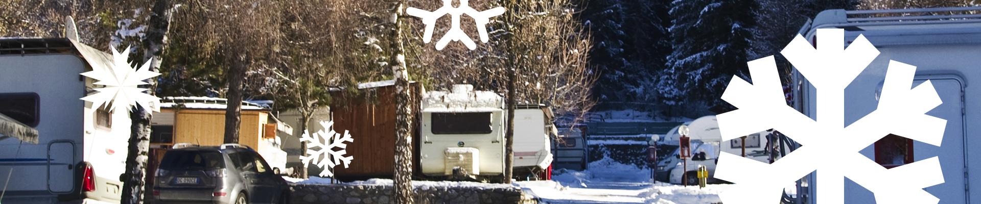 Park your RV wisely in the winter.