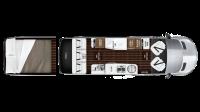 2018 Airstream Interstate EXT GRAND TOUR Floor Plan