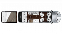 2018 Airstream Interstate EXT LOUNGE Floor Plan