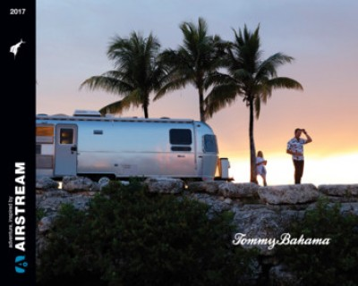 2017 Airstream Airstream Tommy Bahama Relax Edition RV Brand Brochure Cover