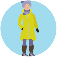 To avoid hypothermia, be sure to layer up appropriately