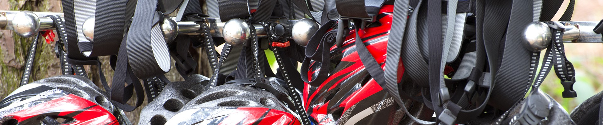 helmet and harness