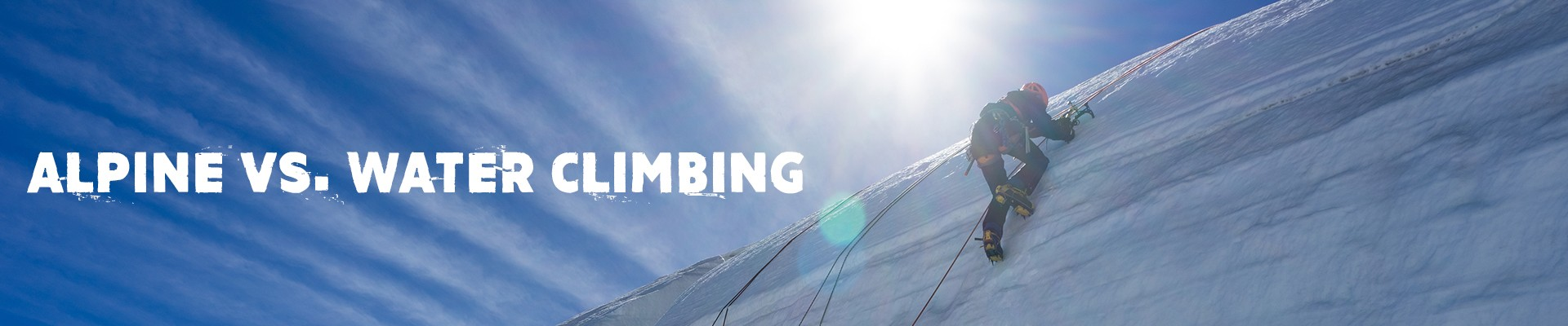 what is ice climbing