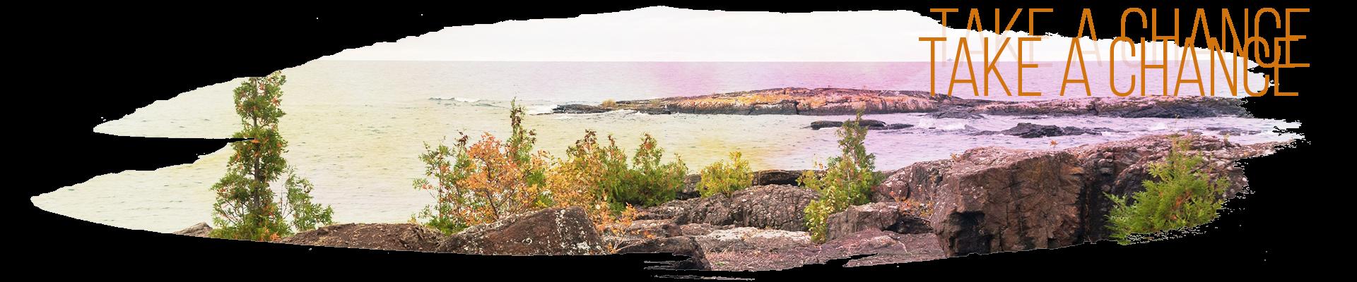 Black Rocks of Presque Isle Park - Take a chance