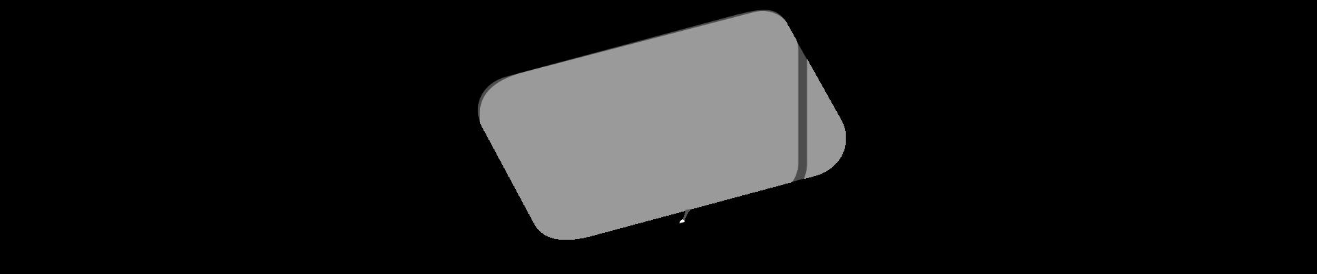 Frameless window for an RV