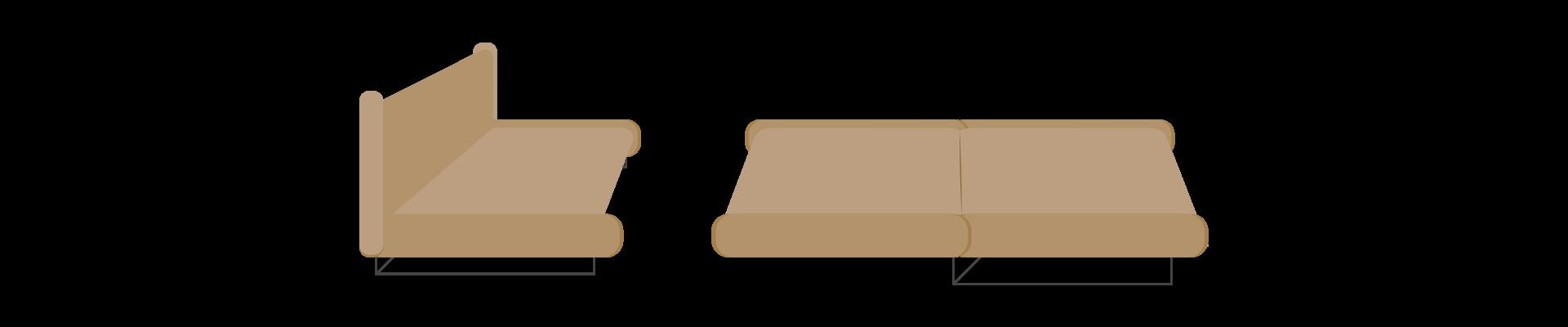 Jacknife Sofa