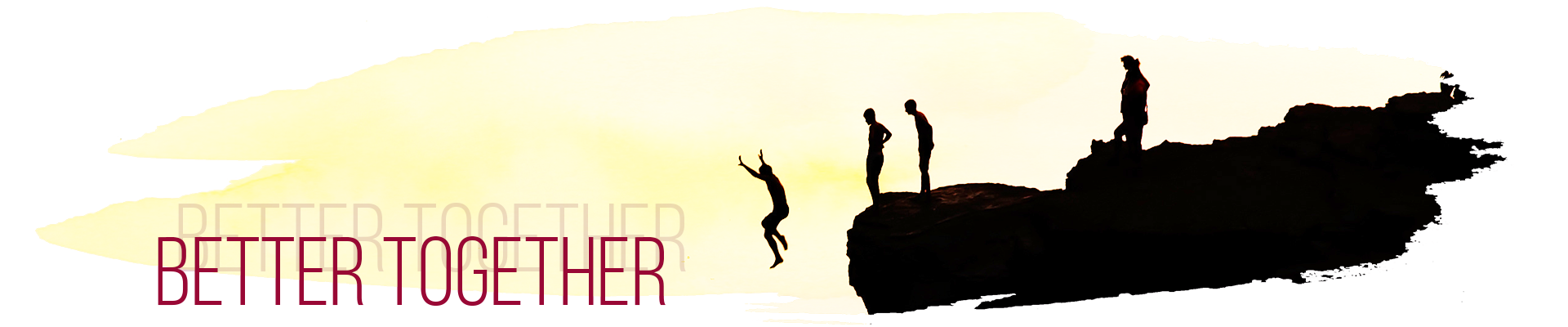 Better Together - Never go alone cliff jumping