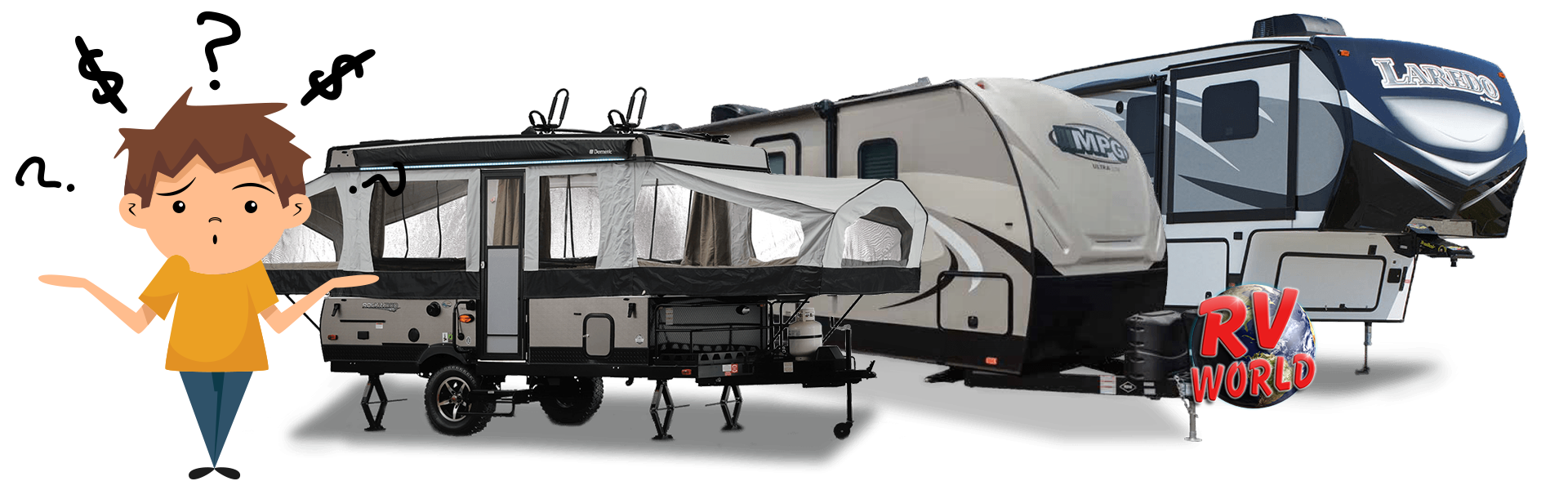 Why are your RV prices not listed on your website?