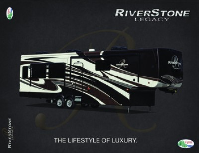 2017 Forest River Riverstone Legacy RV Brand Brochure Cover