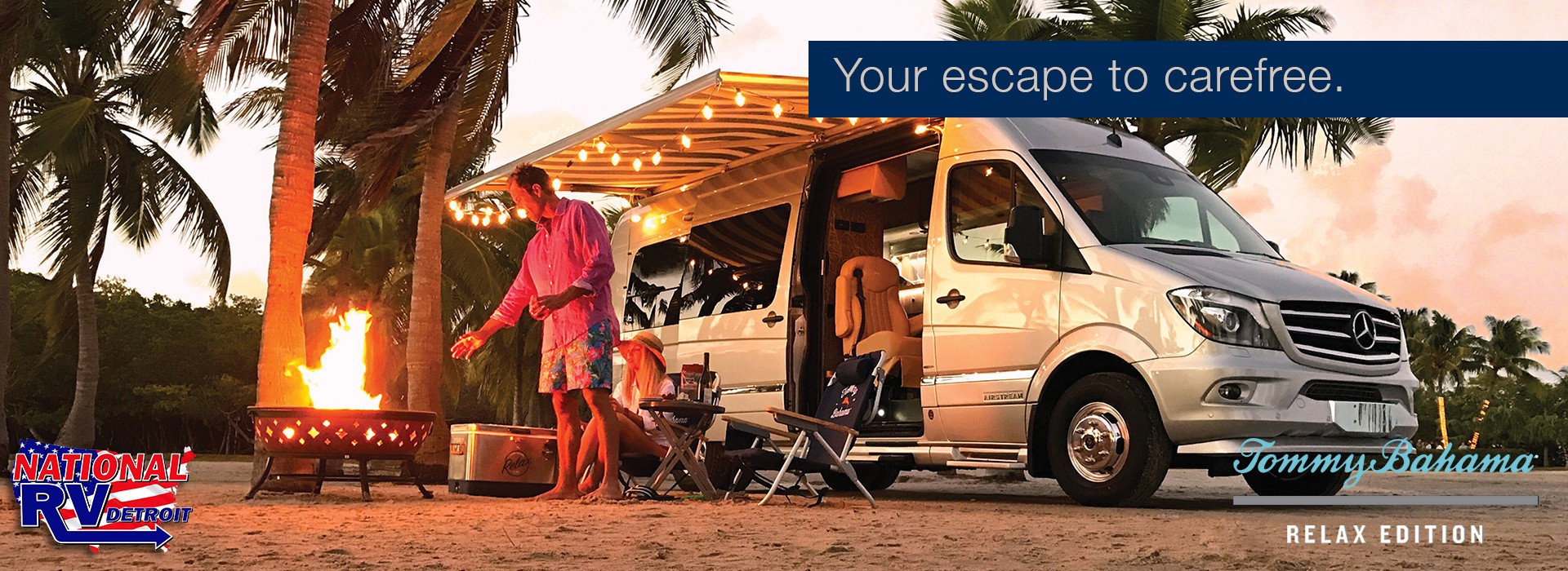 Airstream Tommy Bahama RV available at NationalRV - Your escape to carefree.