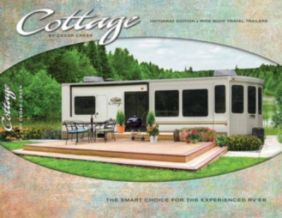 2017 Forest River Cedar Creek Cottage RV Brand Brochure Cover