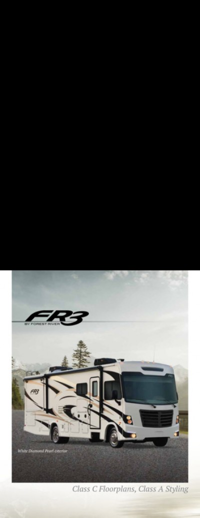 2017 Forest River FR3 RV Brand Brochure Cover