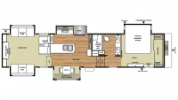 2017 Riverstone Legacy 38RE Floor Plan