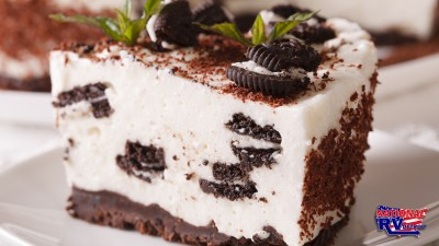 Mint Bark Cheesecake
