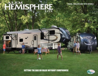2017 Forest River Salem Hemisphere RV Brand Brochure Cover