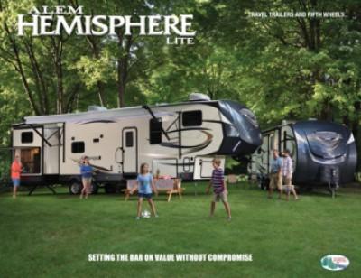 2017 Forest River Salem Hemisphere RV Brand Brochure Cover