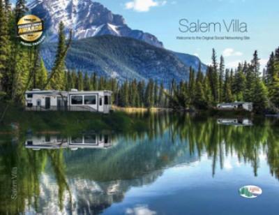 2017 Forest River Salem Villa Classic RV Brand Brochure Cover