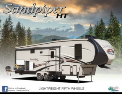 2017 Forest River Sandpiper HT RV Brand Brochure Cover