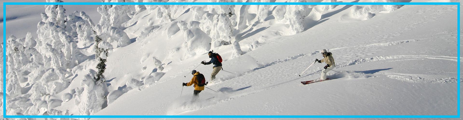 World-class skiing in Canada