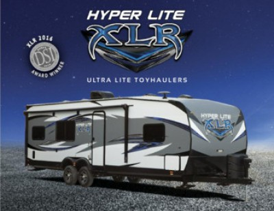 2017 Forest River XLR Hyper Lite RV Brand Brochure Cover