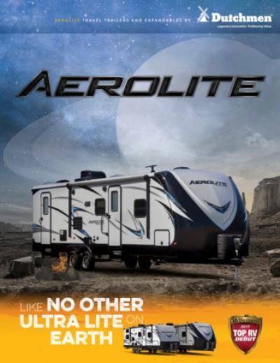 2018 Thor Aerolite RV Brand Brochure Cover