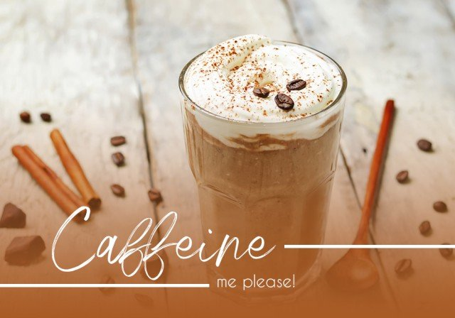 Caffeine me please! A coffee smoothie you'll crave.