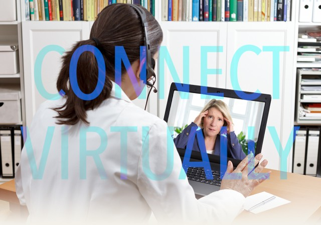 Connect virtually with a doctor while living your life on the road.