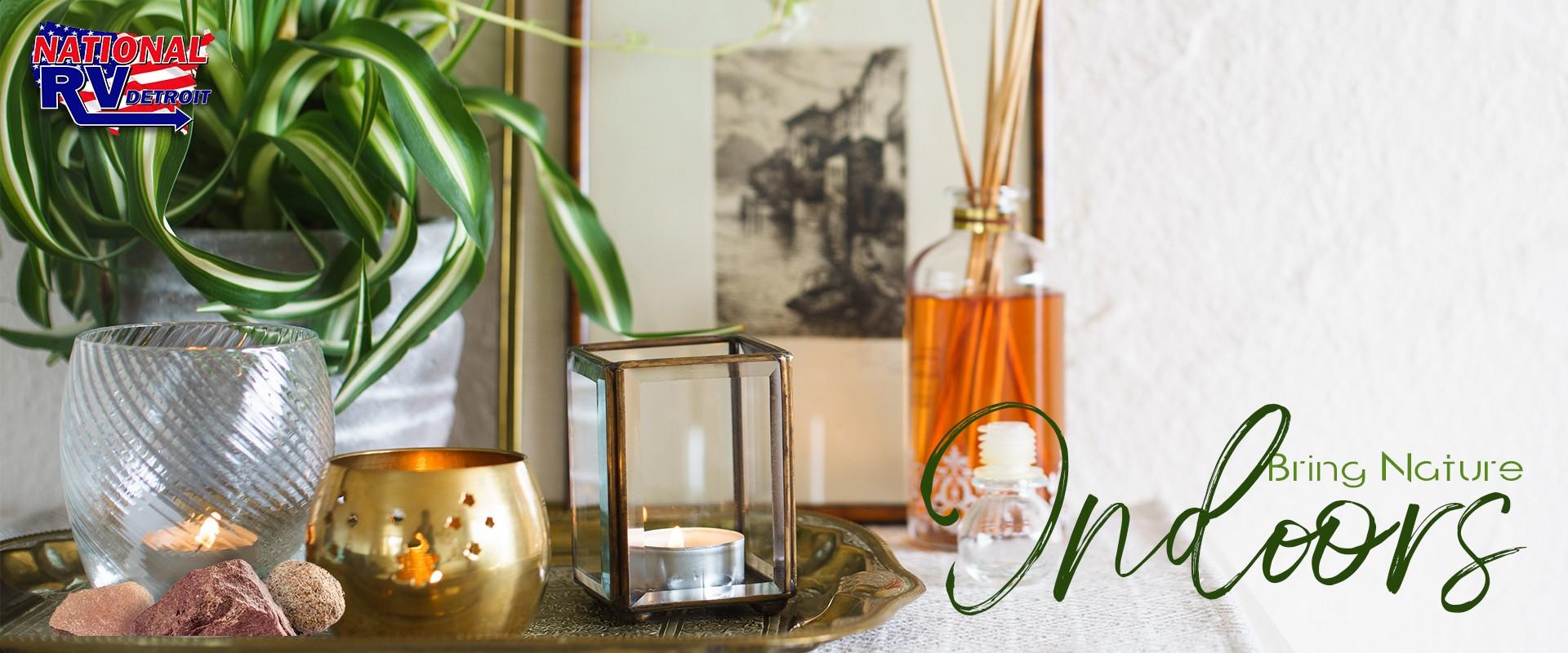 Bring nature indoors - home decor using rocks