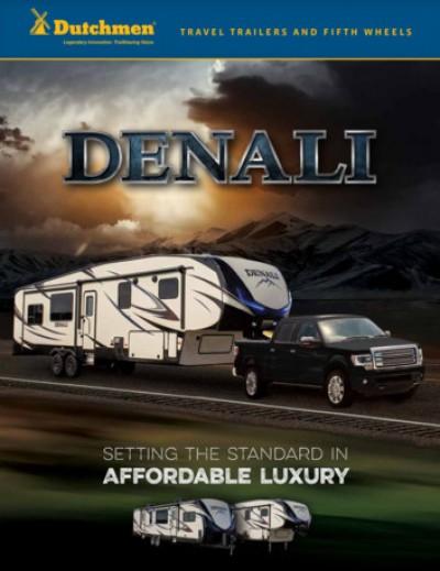 2017 Dutchmen Denali RV Brand Brochure Cover