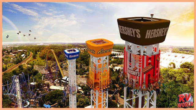 Get a Taste Of the Sweetest Place On Earth: Hershey, PA