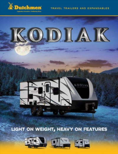 2017 Dutchmen Kodiak RV Brand Brochure Cover