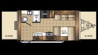 2018 SolAire eXpandables 163X Floor Plan