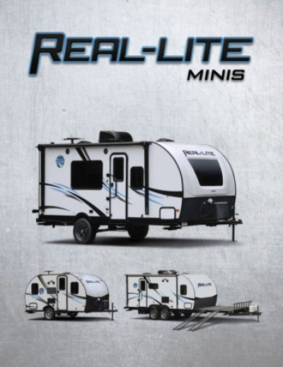 2018 Palomino Real-Lite Mini RV Brand Brochure Cover