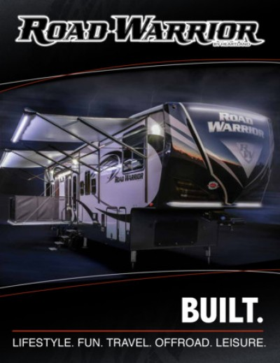 2017 Heartland Road Warrior RV Brand Brochure Cover