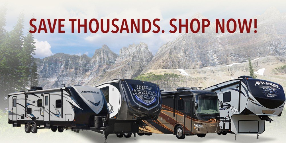 Save thousands when you shop RVs at National RV Detroit!