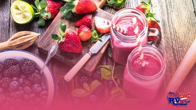 Easy smoothie recipes to make on your next camping trip