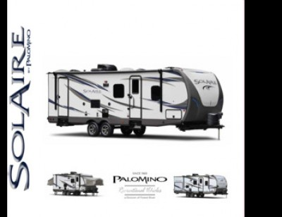 2017 Palomino SolAire eXpandables RV Brand Brochure Cover