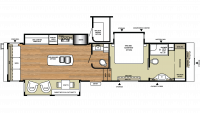 2018 Riverstone Legacy 38FB Floor Plan