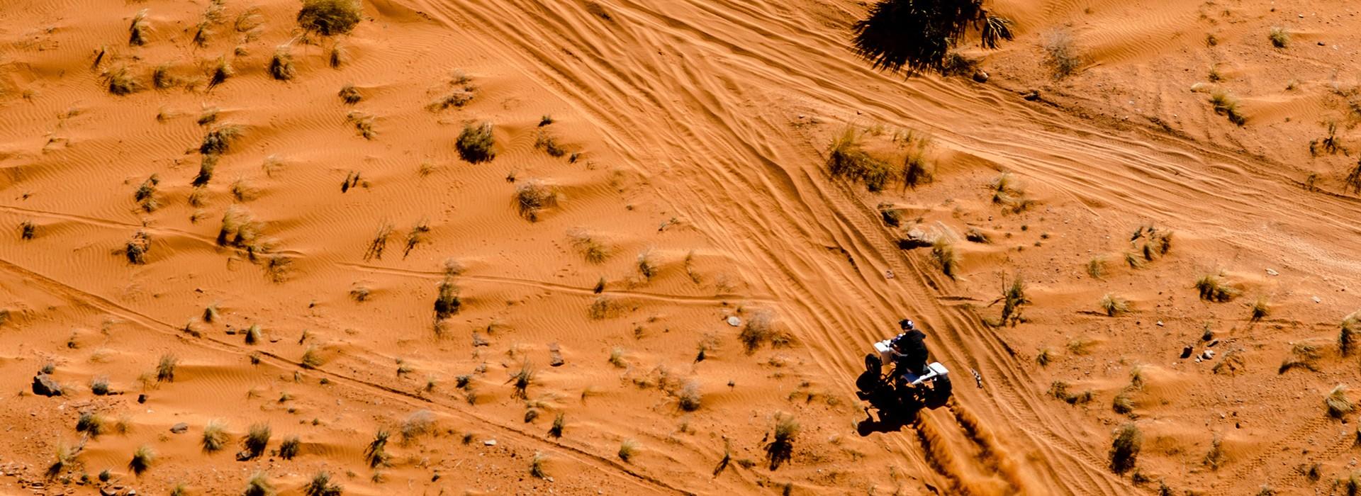 ATVing in Utah