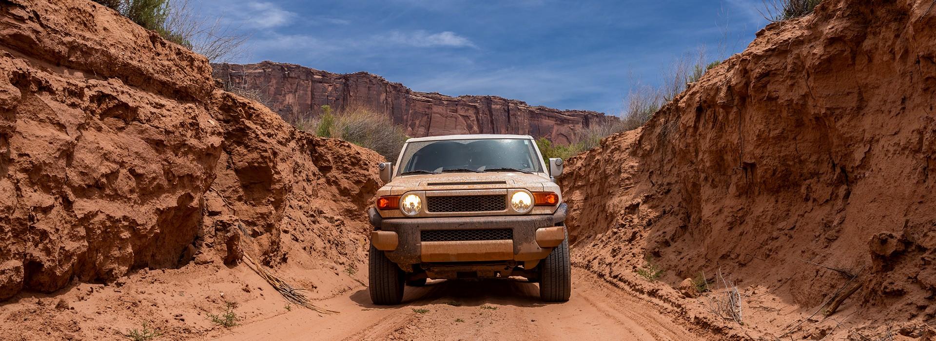 Off-roading in Utah