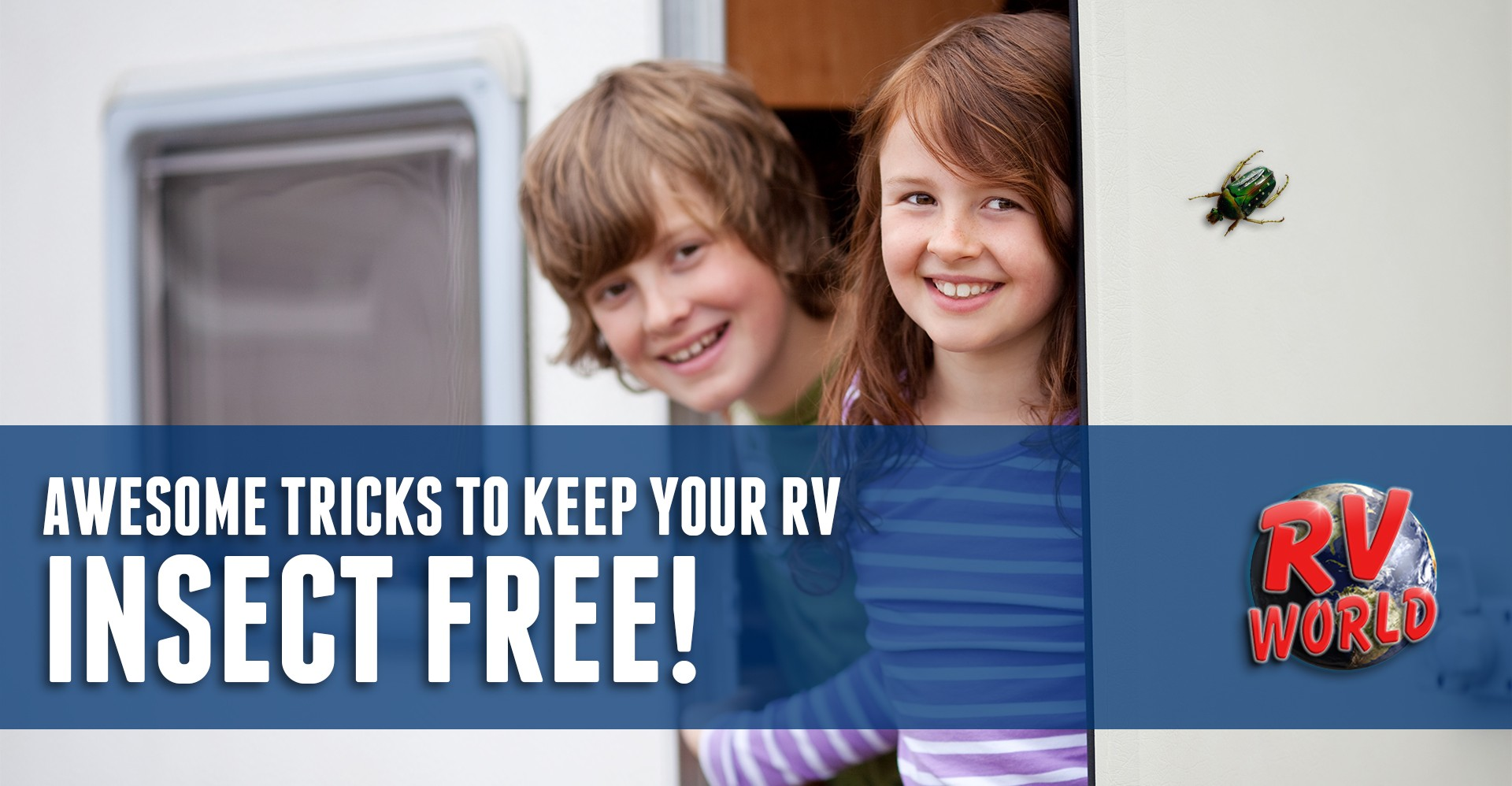 Awesome Tricks To Keep Your RV Insect Free!  RV World Blog