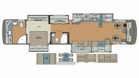 2018 Berkshire XLT 45A Floor Plan