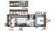 2016 Flagstaff Super Lite 26RLWS Floor Plan