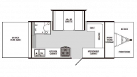 2009 Palomino Elite 9149 Floor Plan