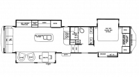 2019 RiverStone 37IK Floor Plan